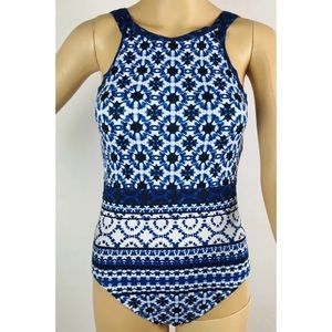 Tommy Bahama One Piece Swimsuit Tummy Control NWT
